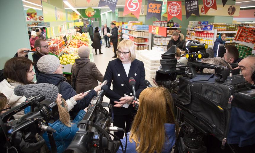X5 открыла десятитысячный магазин в Российской Федерации